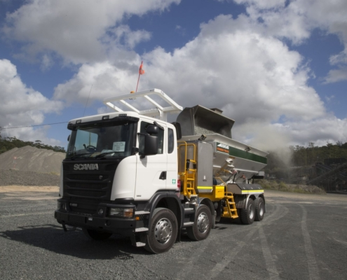 Scania-G400 Stemming Rig