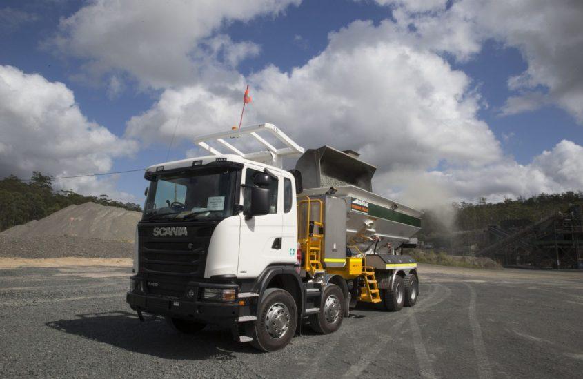 Scania-G400 Stemming Rig