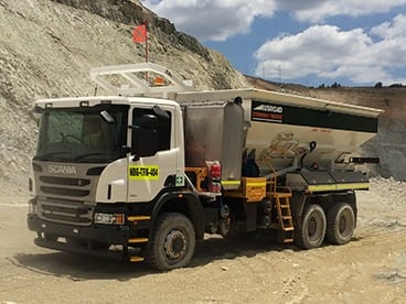 Scania Stemming Truck